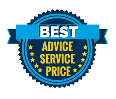 Best advice, service and price