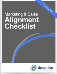 marketing and sales alignment checklist ebook cover