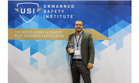 Unmanned Safety Institute's Josh Olds Wins AUVSI XCELLENCE Award