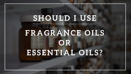 FRAGRANCE OILS OR ESSENTIAL OILS BLOG IMAGE - banner