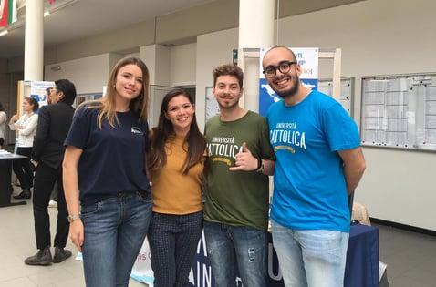 Intern Abroad  Alumni during International Education Week