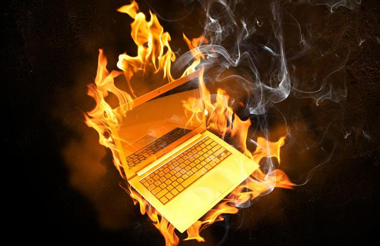 laptop overheating