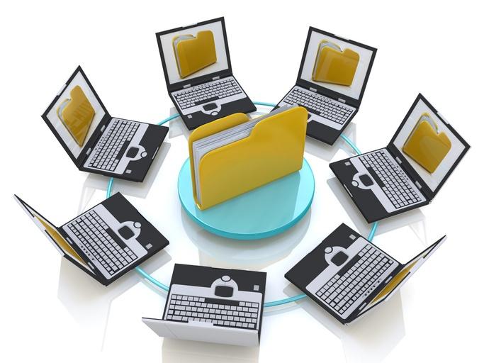 network folders