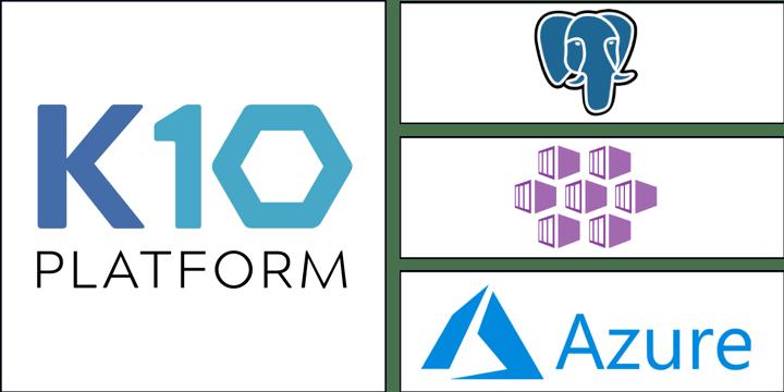 PostgreSQL Backup and Restore on Microsoft Azure using Kasten K10 - part 1