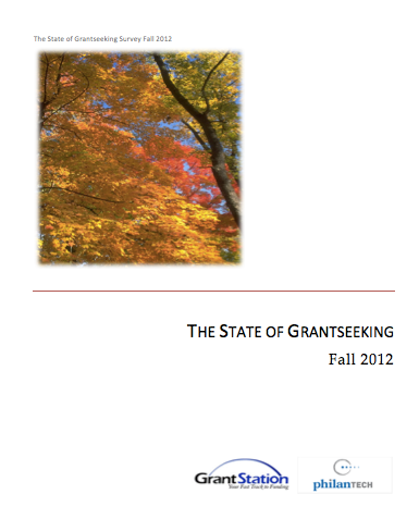 State of Grantseeking Fall 2012