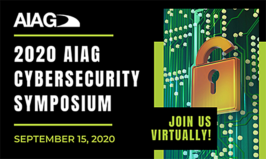 AIAG Launches 2020 VirtualCybersecurity Symposium