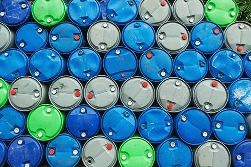 chemical barrels green blue grey-blog
