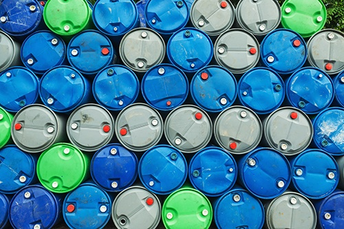 chemical barrels green blue grey-blog