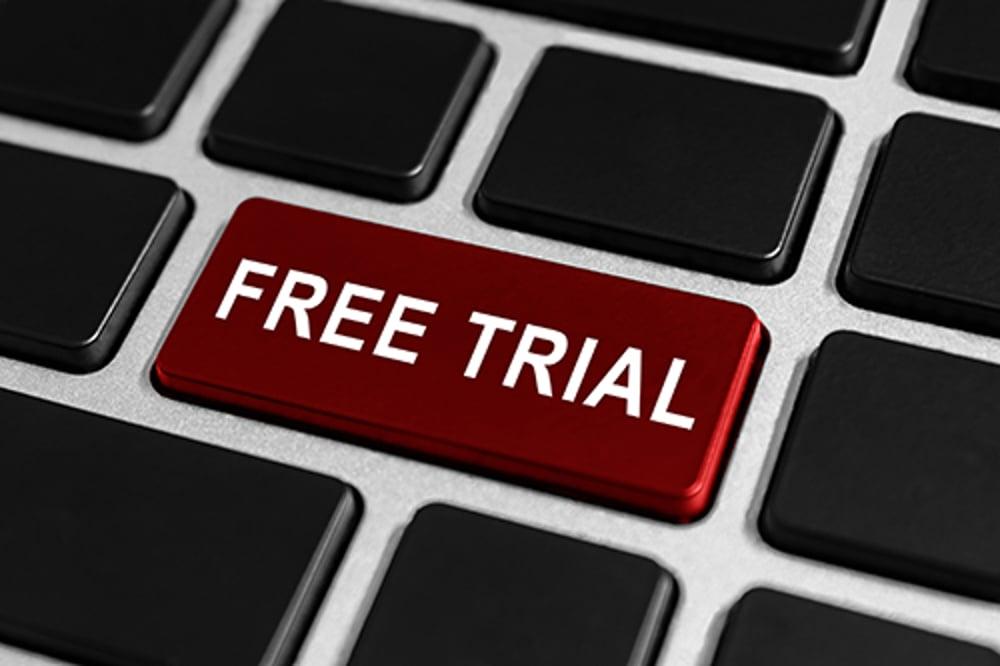 free trial - blog