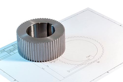 gear and technical drawing-blog