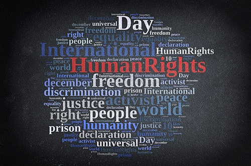 human rights word cloud-blog