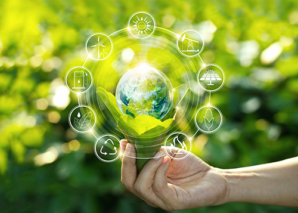 renewable energy icons - blog