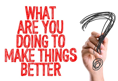what are you doing to make things better-blog