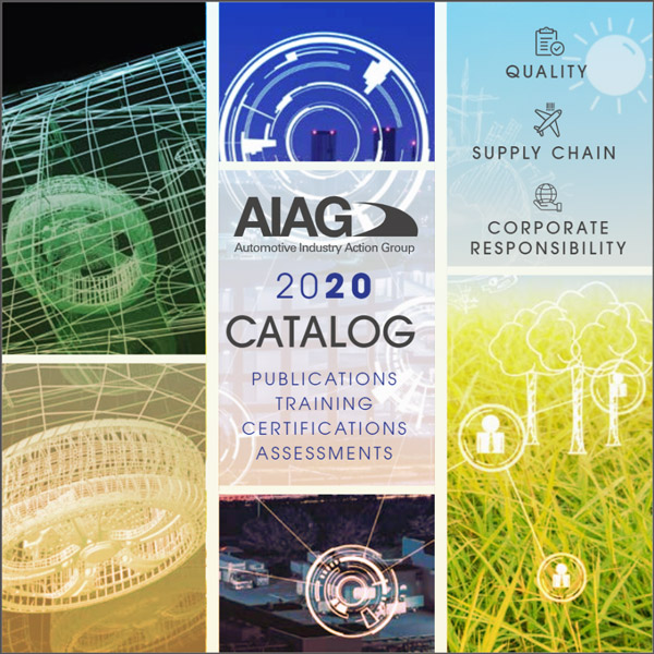 New Year, New Catalog: Check Out AIAG's 2020 Catalog Now