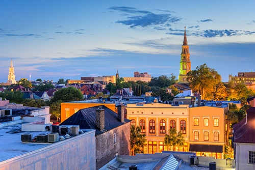 charleston at dusk-blog
