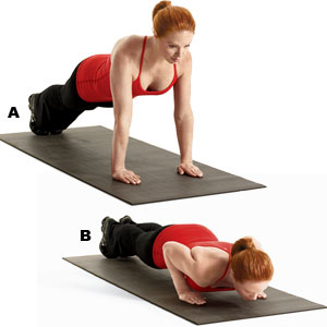 tricep push up for women