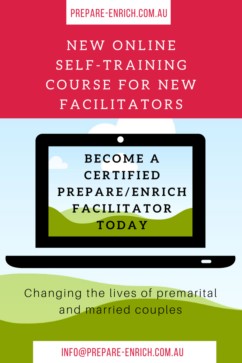 Launching the PREPARE/ENRICH online self-directed training for new facilitators