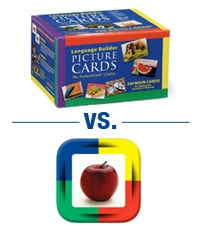 Picture Cards vs. App