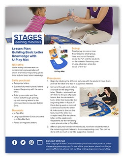 U-Play Mat Lesson Plan