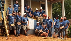 Geeks With Hammers: Medicus Volunteers with Habitat for Humanity