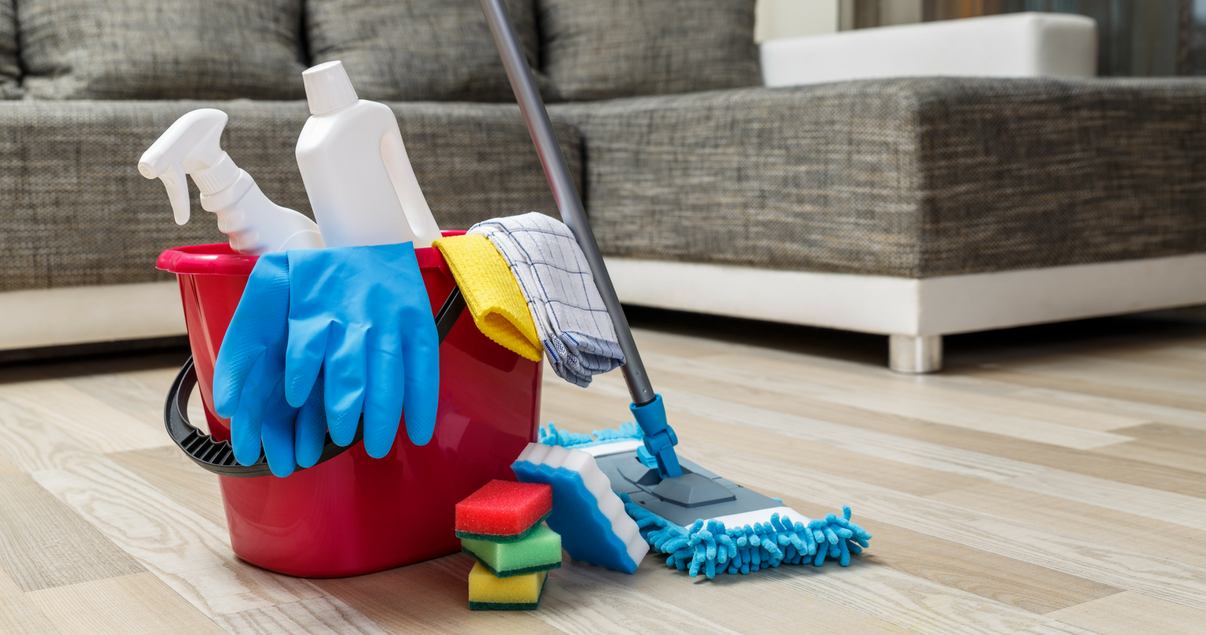 Utensilios de limpieza de personal doméstico