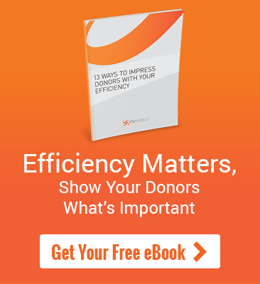 Download Your Free eBook - 13 Ways To Impress Donors With Your Efficiency