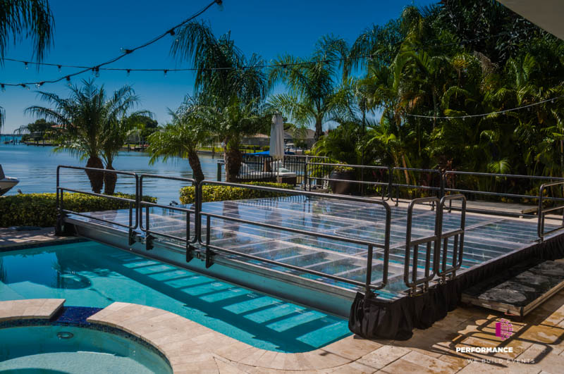 Dance Floor Pool Cover Rental