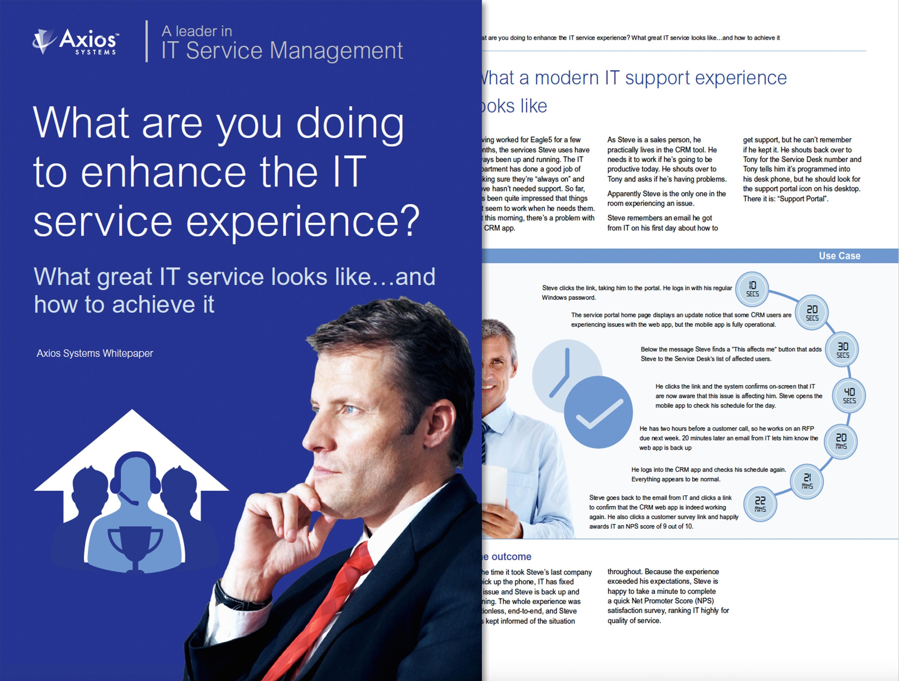 Was unternehmen Sie um die IT-Service-Erfahrung zu verbessern