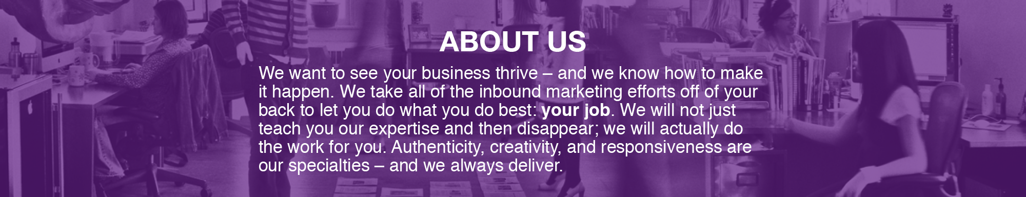 about us, Responsive Inbound Marketing, Boston inbound marketing agency