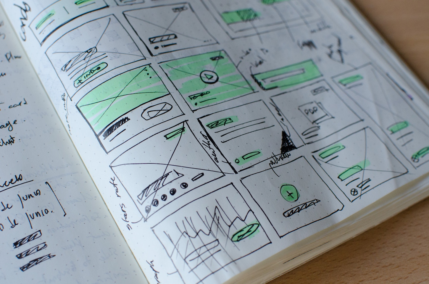 UX design - planning designs