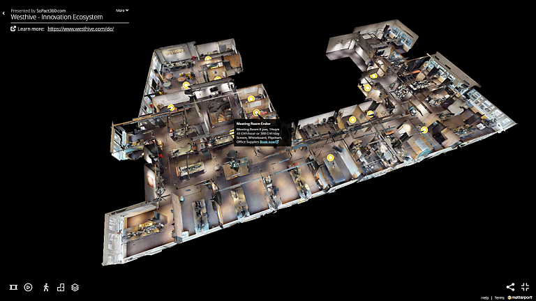 Westhive Virtual Tour 02 3D-Modell
