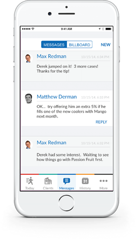 messaging app for field teams