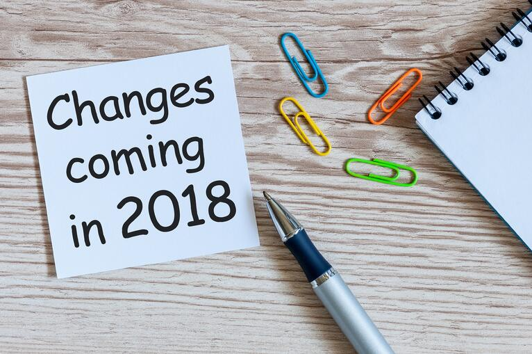 Changes Coming