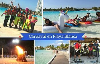 ¡Así vivimos el Carnaval en PlayaBlanca Beach & Lagoon Residences!