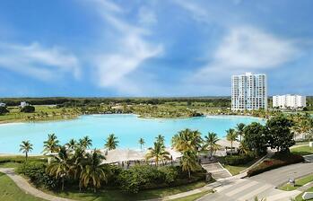 Así es la piscina de agua salada más grande de Centroamérica y el Caribe