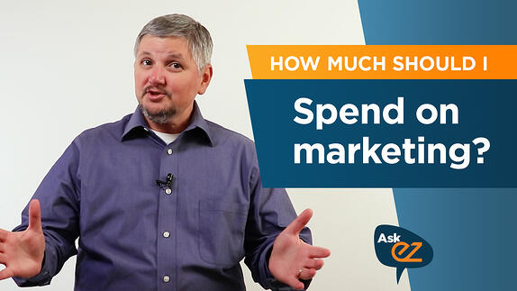 How much should I spend on marketing? - Ask EZ