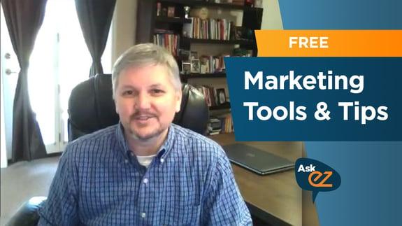 Free Marketing Tools & Tips - Ask EZ