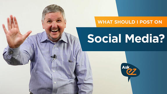 What should I post on social media? - Ask EZ