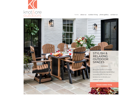 EZMarketing Develops Website for Knot & Ore Outdoors