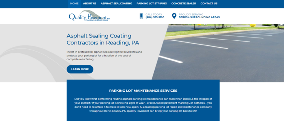 EZMarketing Constructs New Website for Quality Pavement LLC