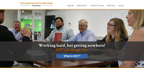 EZMarketing Develops Website for Entrepreneurial Leadership Associates