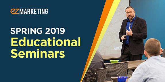 EZMarketing Announces Spring 2019 Educational Seminars at the Lancaster Chamber of Commerce
