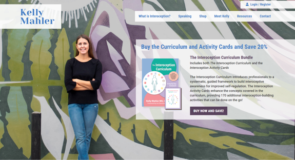EZMarketing Develops New Website for Kelly Mahler