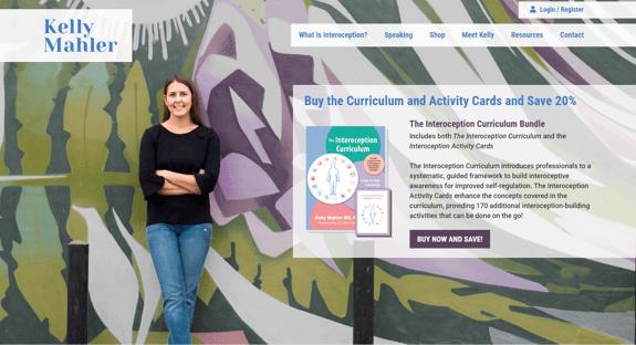 EZMarketing Develops New Website for Kelly Mahler