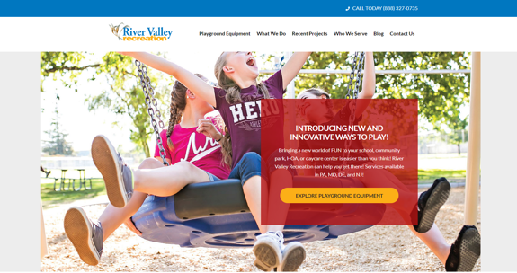 EZMarketing Designs & Develops New Website for River Valley Recreation