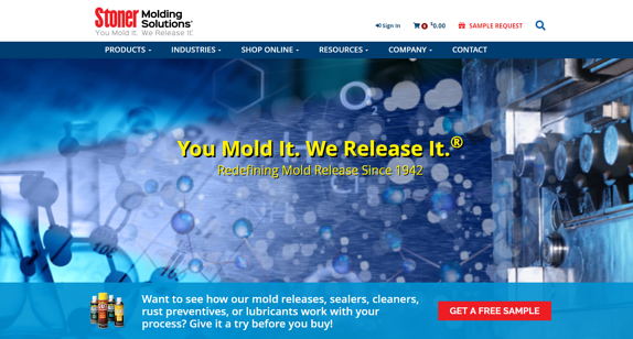EZMarketing Designs & Develops New Website for Stoner Molding Solutions