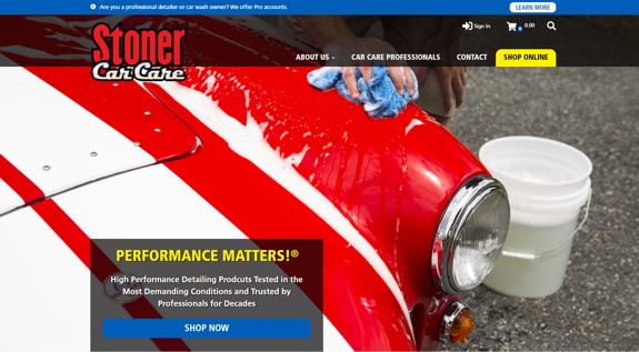 EZMarketing Designs Website for Stoner Car Care