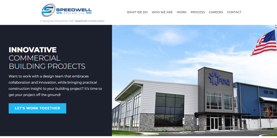 EZMarketing Builds Website for Speedwell Design