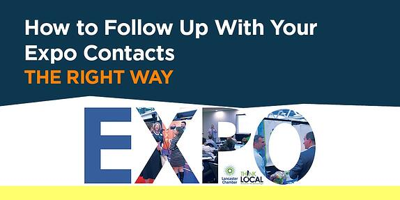 How to Follow Up with Your Expo Contacts the Right Way
