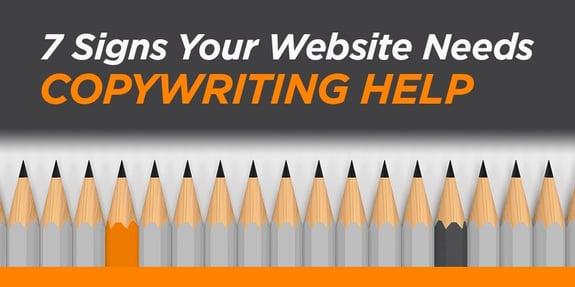 7 Signs Your Website Needs Copywriting Help